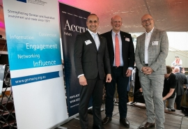 Celebrating ongoing success in German-Australian business